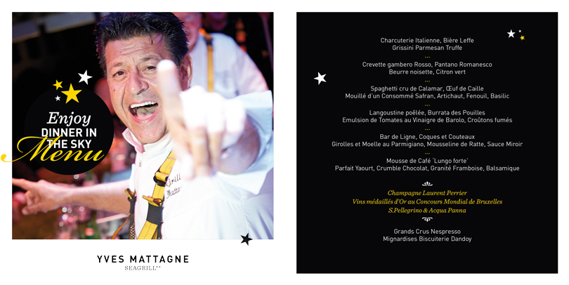 Menu Yves Mattagne 2014